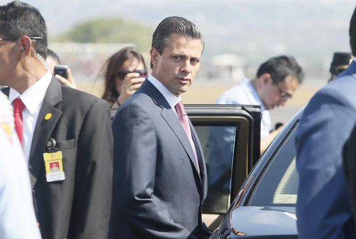 Peña Nieto, tercer líder de AL más seguido en Twitter