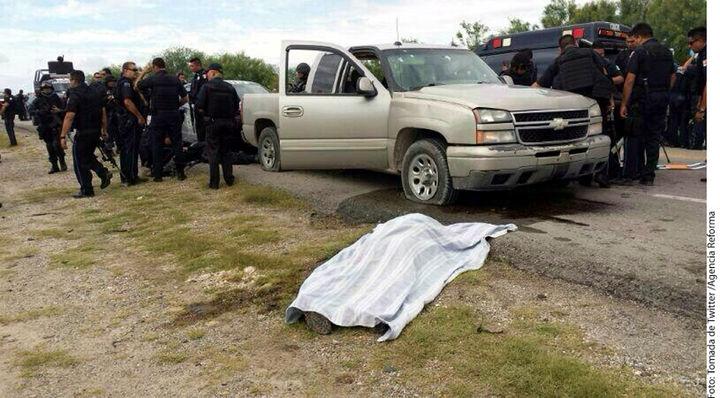 Asesinan a federal en una emboscada
