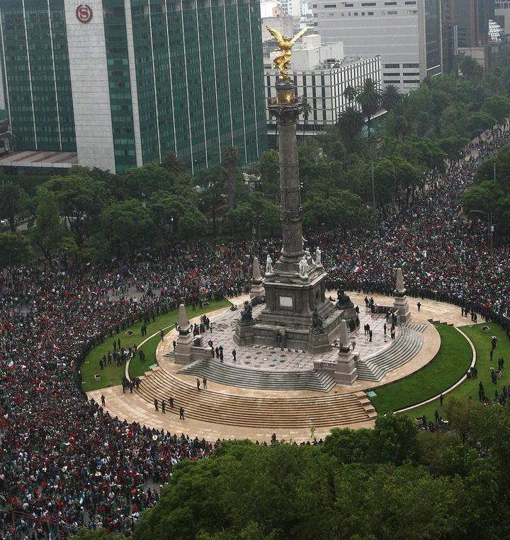Cuidarán 2 mil 500 policías el Ángel por juego del Tri