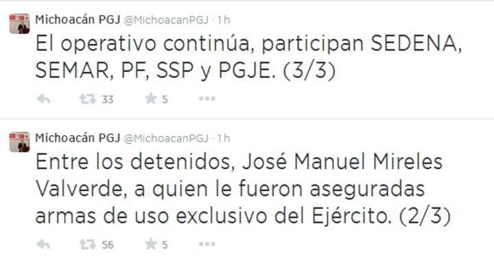 Confirman detención de Mireles por portación ilegal de armas