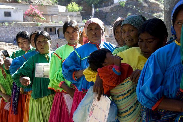 Sin saldar deuda con indígenas