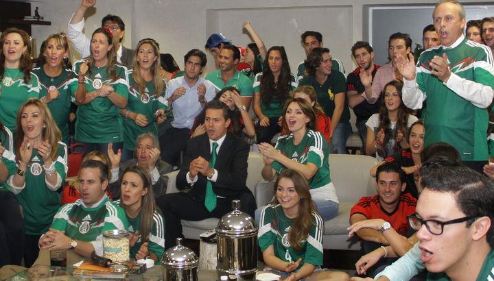 Felicita Peña Nieto al Tri por su trabajo en Mundial