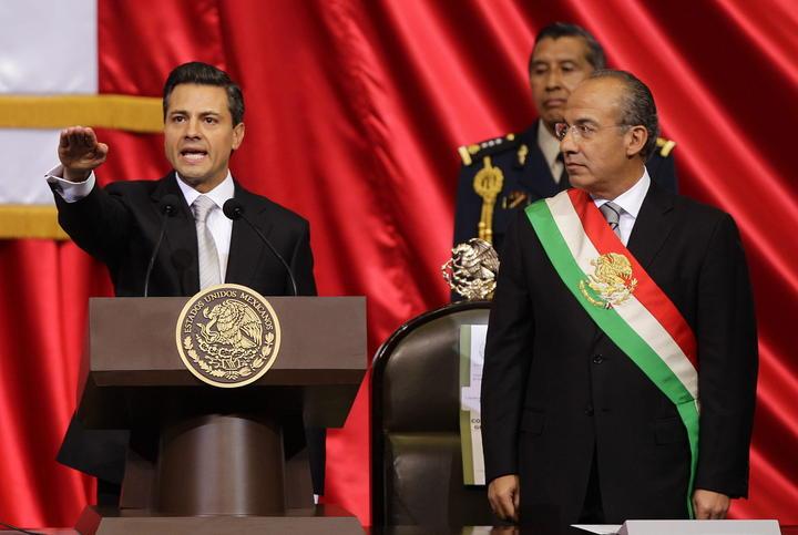 A dos años de haber sido electo, Peña agradece a mexicanos