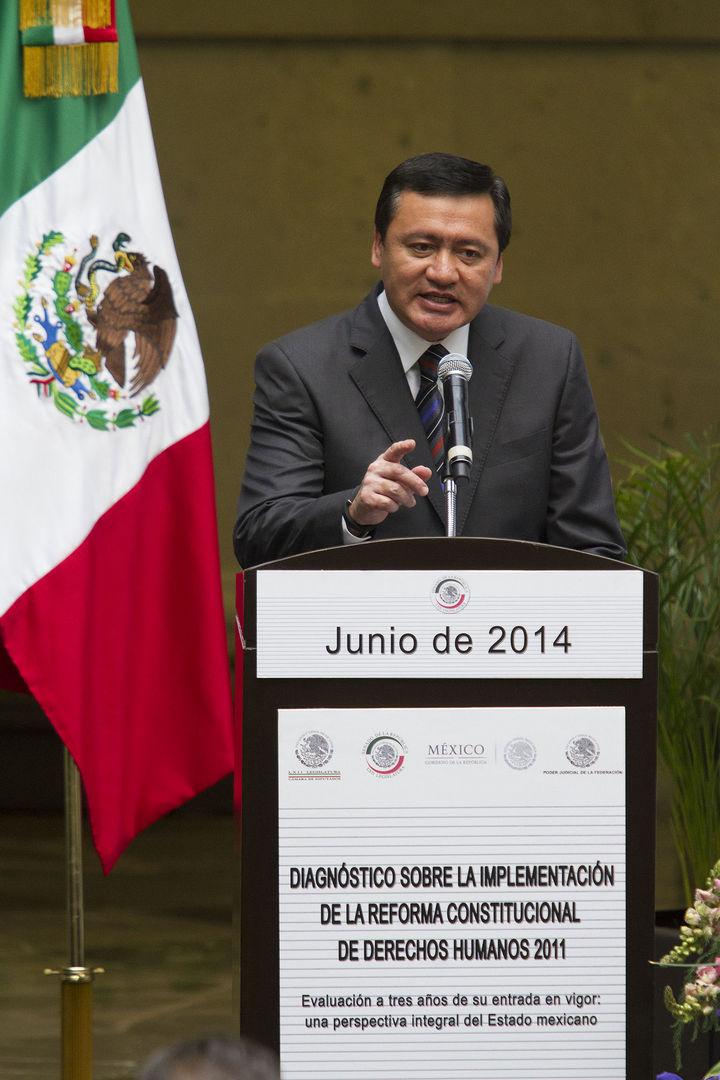 Descarta Osorio Chong perdón a José Mireles