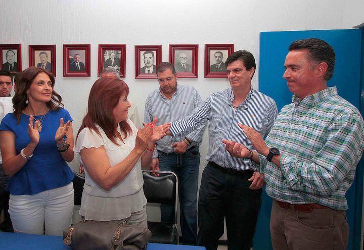 Muestran apoyo a los candidatos panistas