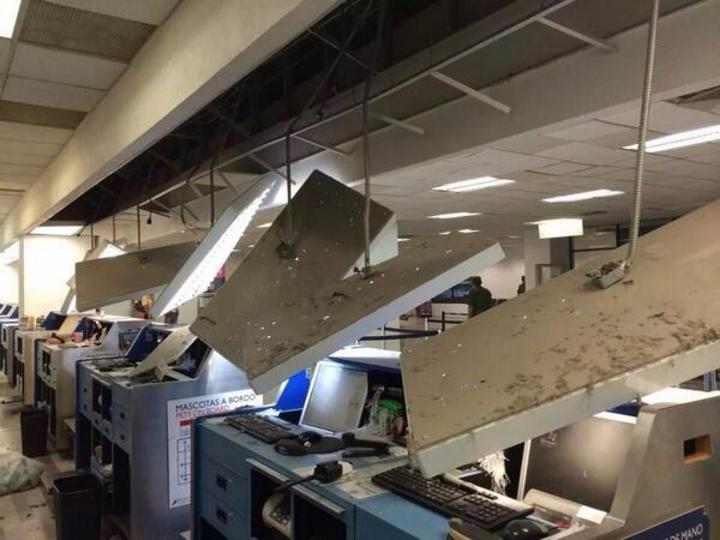 Sismo deja daños en Chiapas