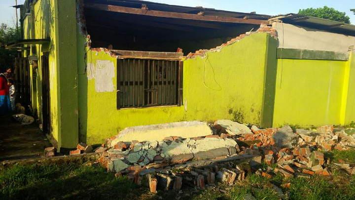 Suman dos muertos en Chiapas tras sismo
