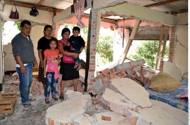 Nueve mil inmuebles dañados por el sismo