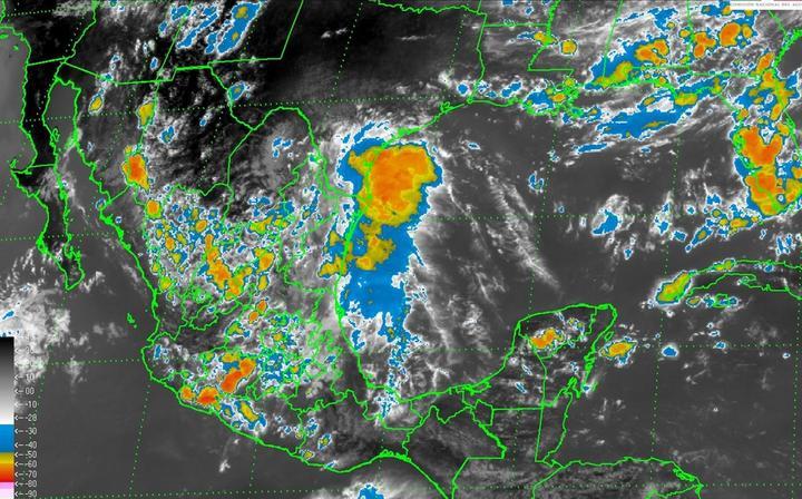 Pronostican tormentas y granizadas en nueve estados