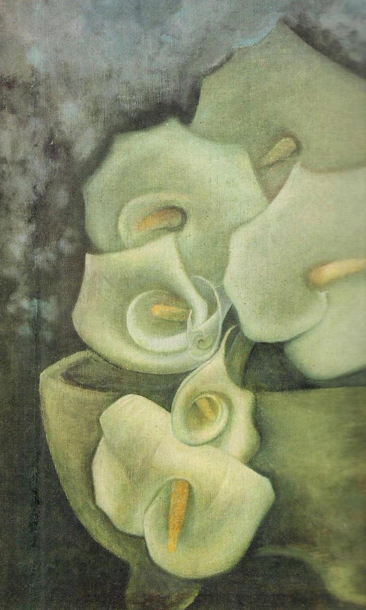 Xavier Guerrero, pintor nacido en mi tierra