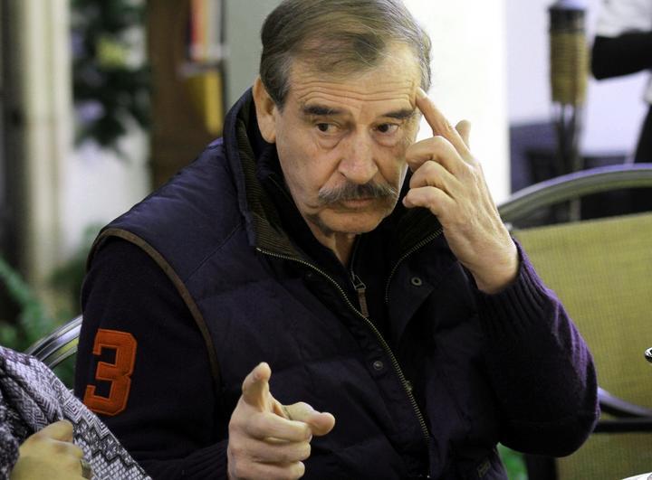 Vicente Fox apoya a
