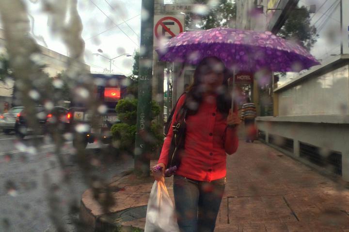 Prevén lluvias en la mayor parte del país