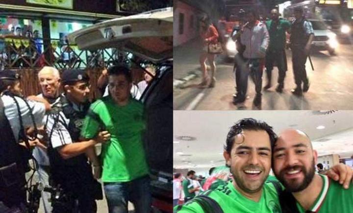 Liberarán a los 4 mexicanos encarcelados en Brasil