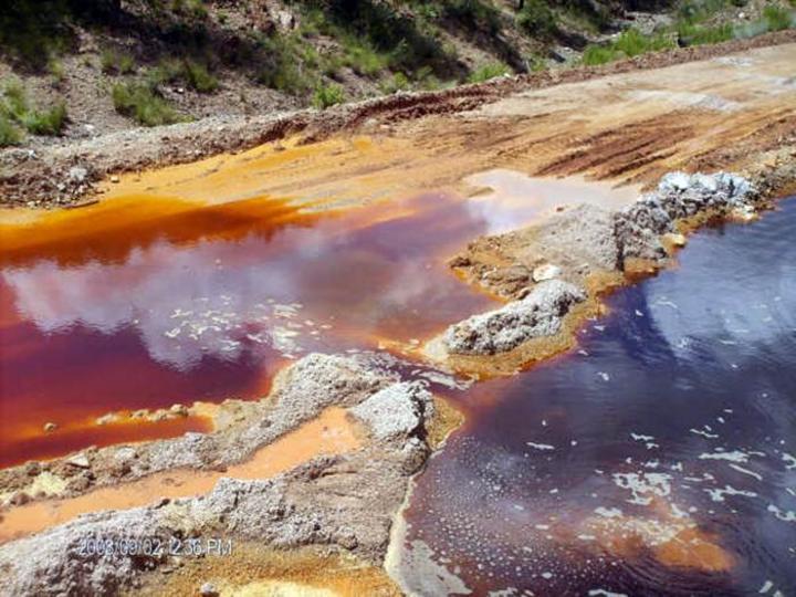 Toman mina en Sonora por contaminación a ríos