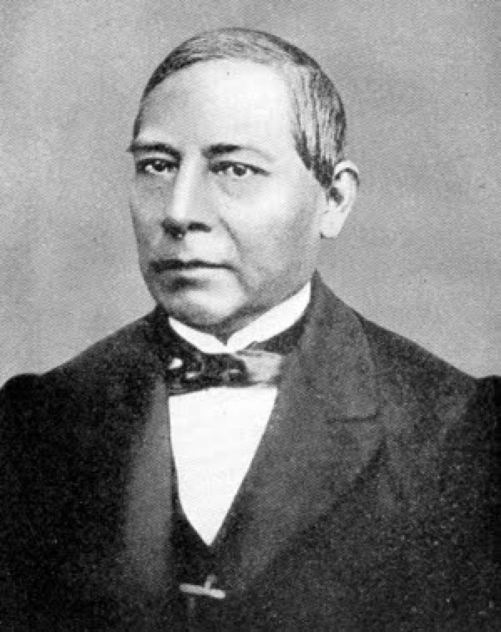 Benito Juárez, en la hda. de Santa Rosa