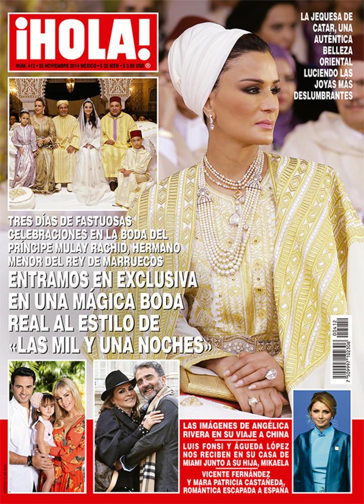 Revista presume viaje de ang lica rivera a china for Revistas de espectaculos