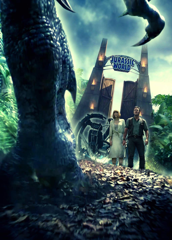 Jurassic world abre sus puertas for Puerta jurassic world