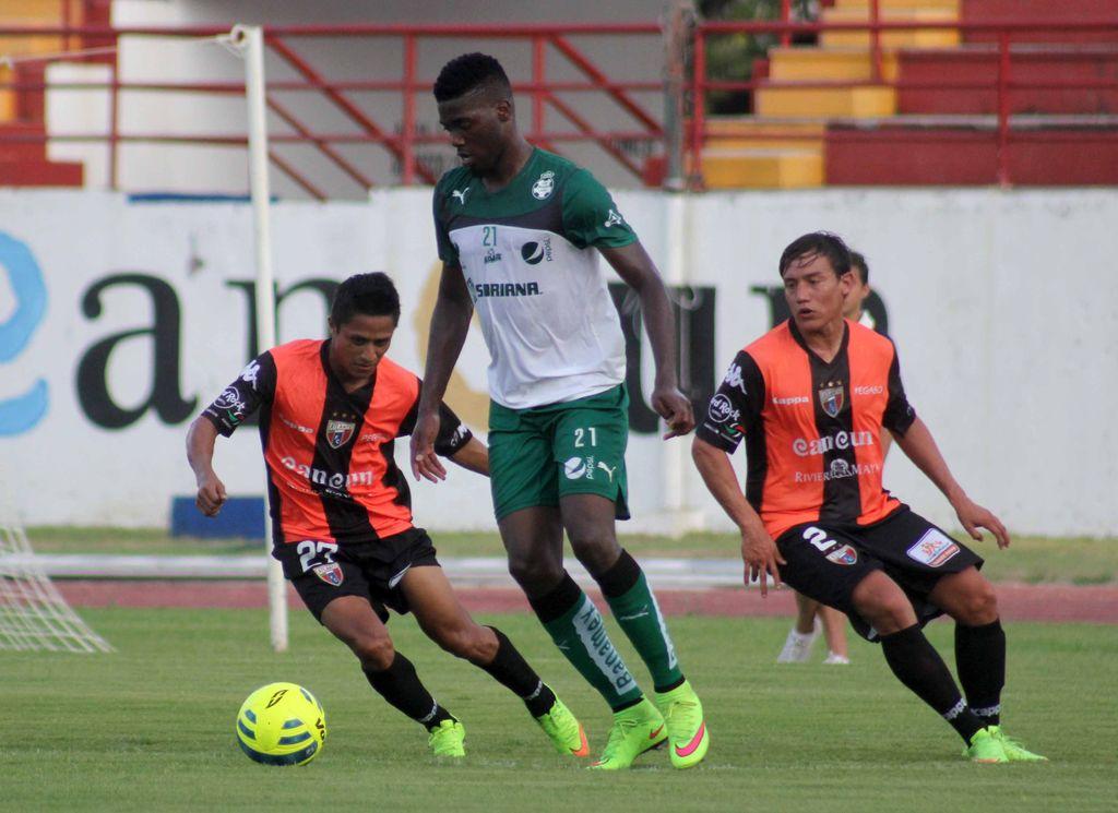 Iguala Santos 1-1 con Atlante