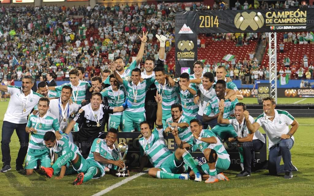 ¡Santos Laguna, Campeón de Campeones!