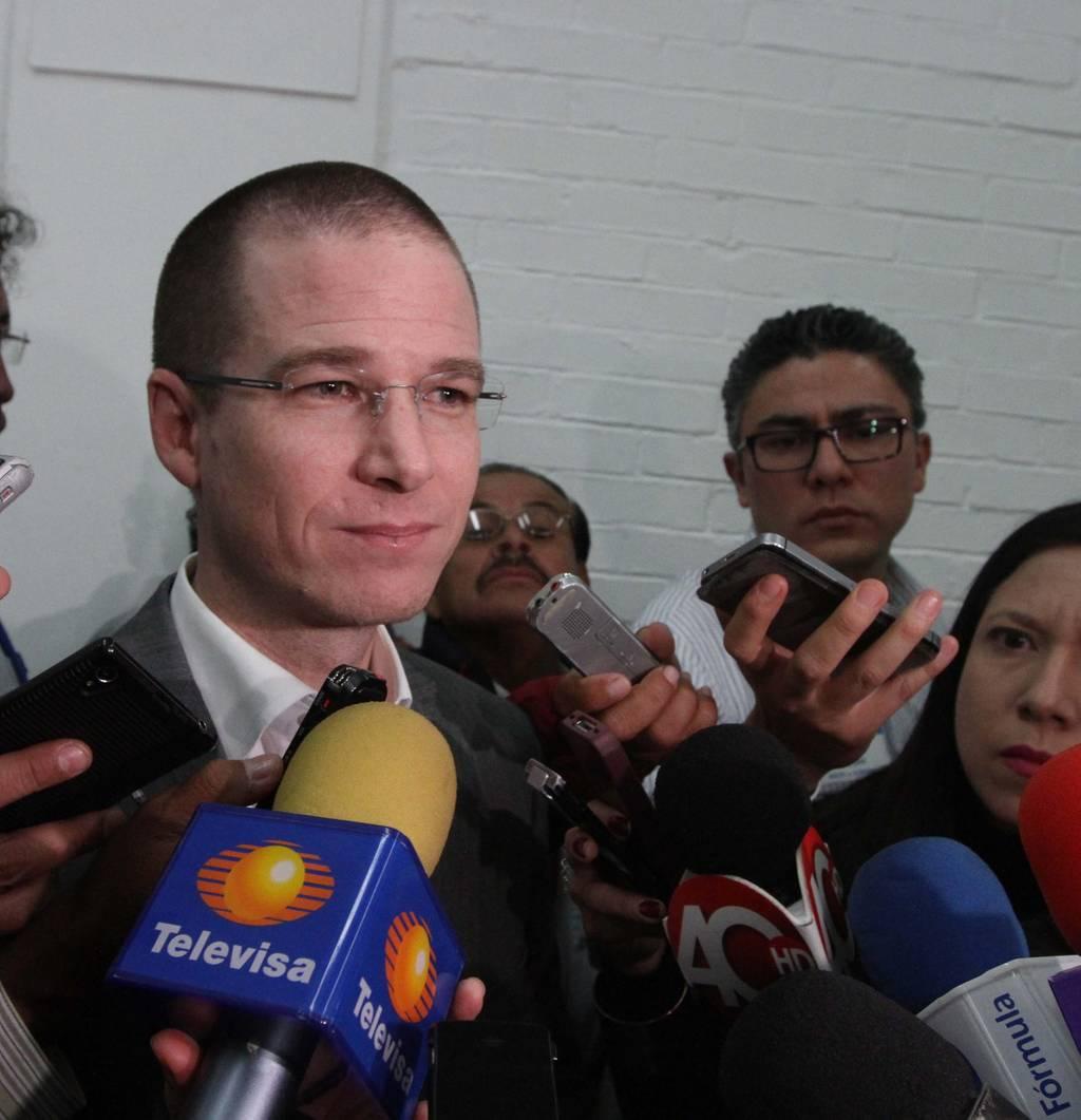 Presenta Anaya declaración patrimonial