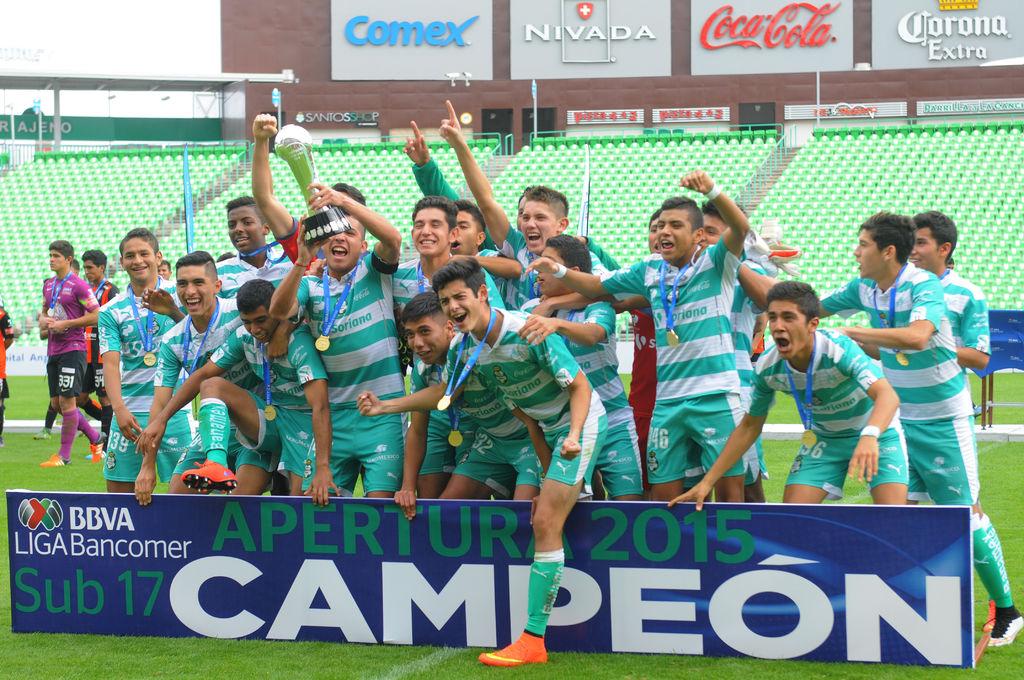 Santos Laguna es campeón de la Liga MX en la  Sub 17