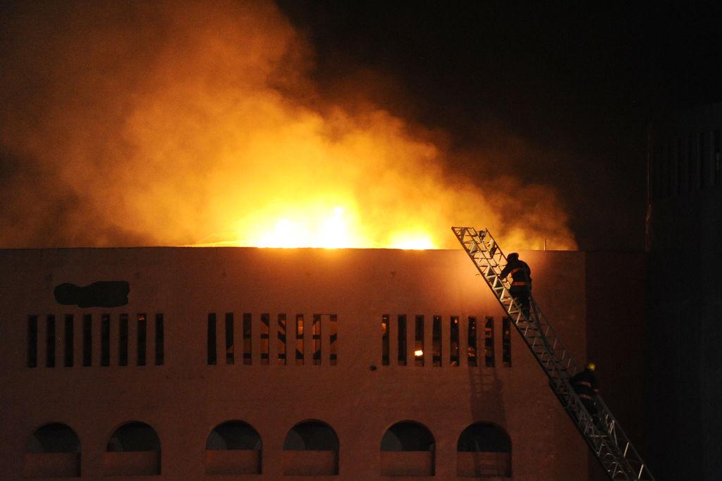 ayuntamiento turna incendio coliseo