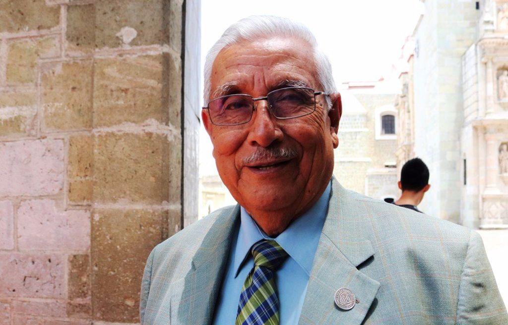 Fallece Rubén Vasconcelos Beltrán, cronista de Oaxaca