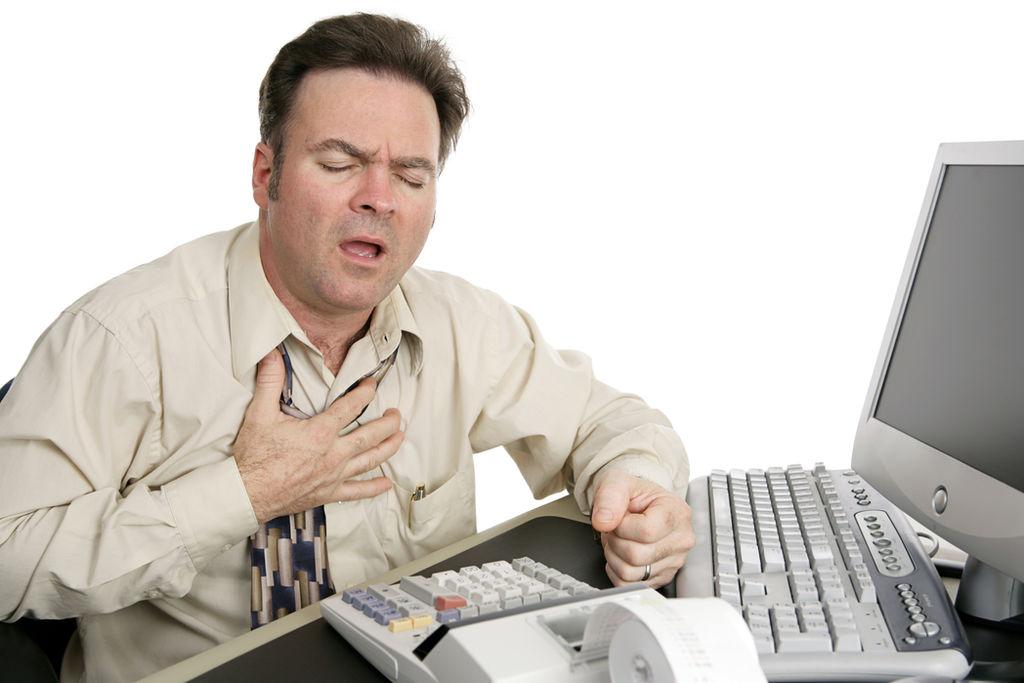 Resultado de imagen para Falta de actividad física puede causar infarto