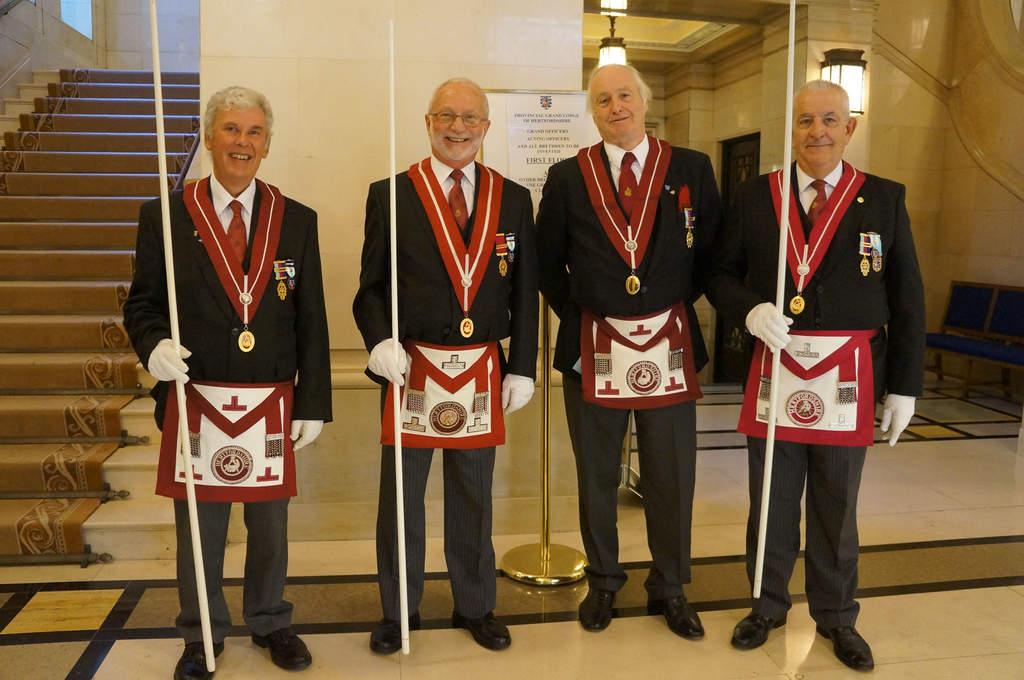 Masonería inglesa, tres siglos de historia