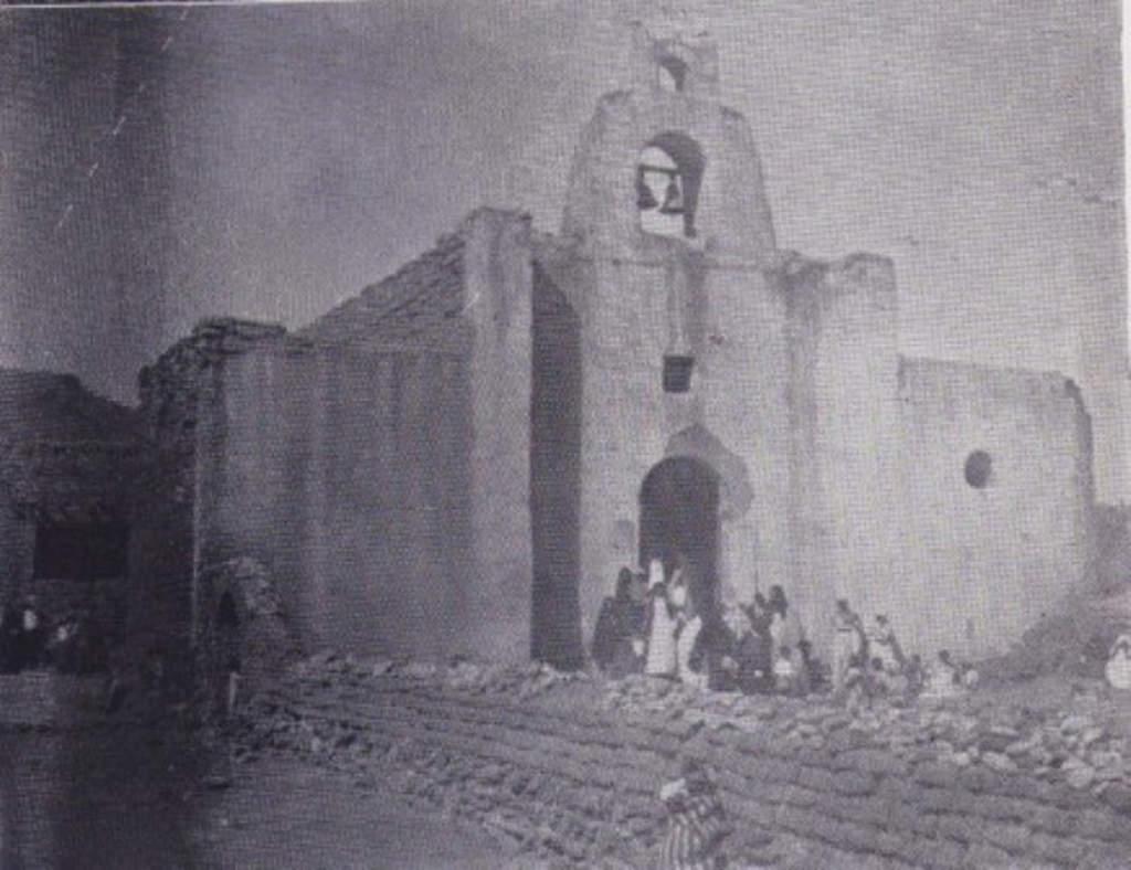 La misión de San Pedro de La Laguna