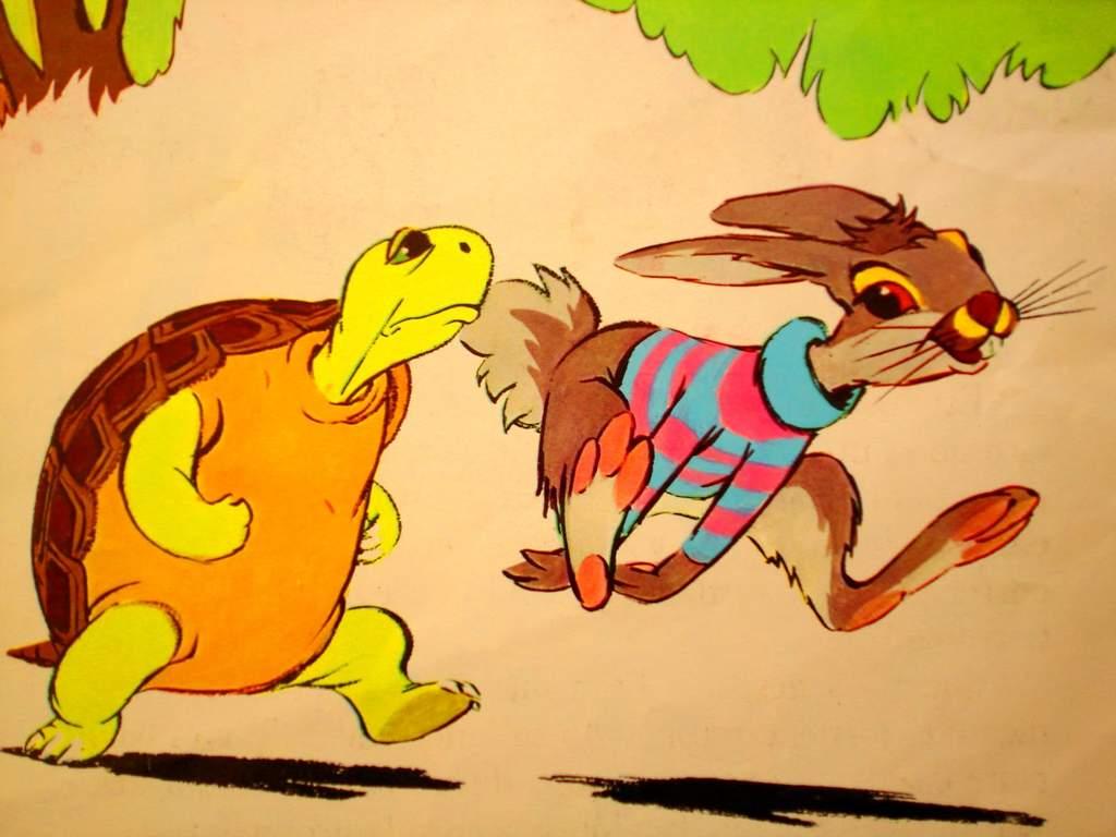 La liebre y la tortuga\' se enfrentan a una carrera en la vida real