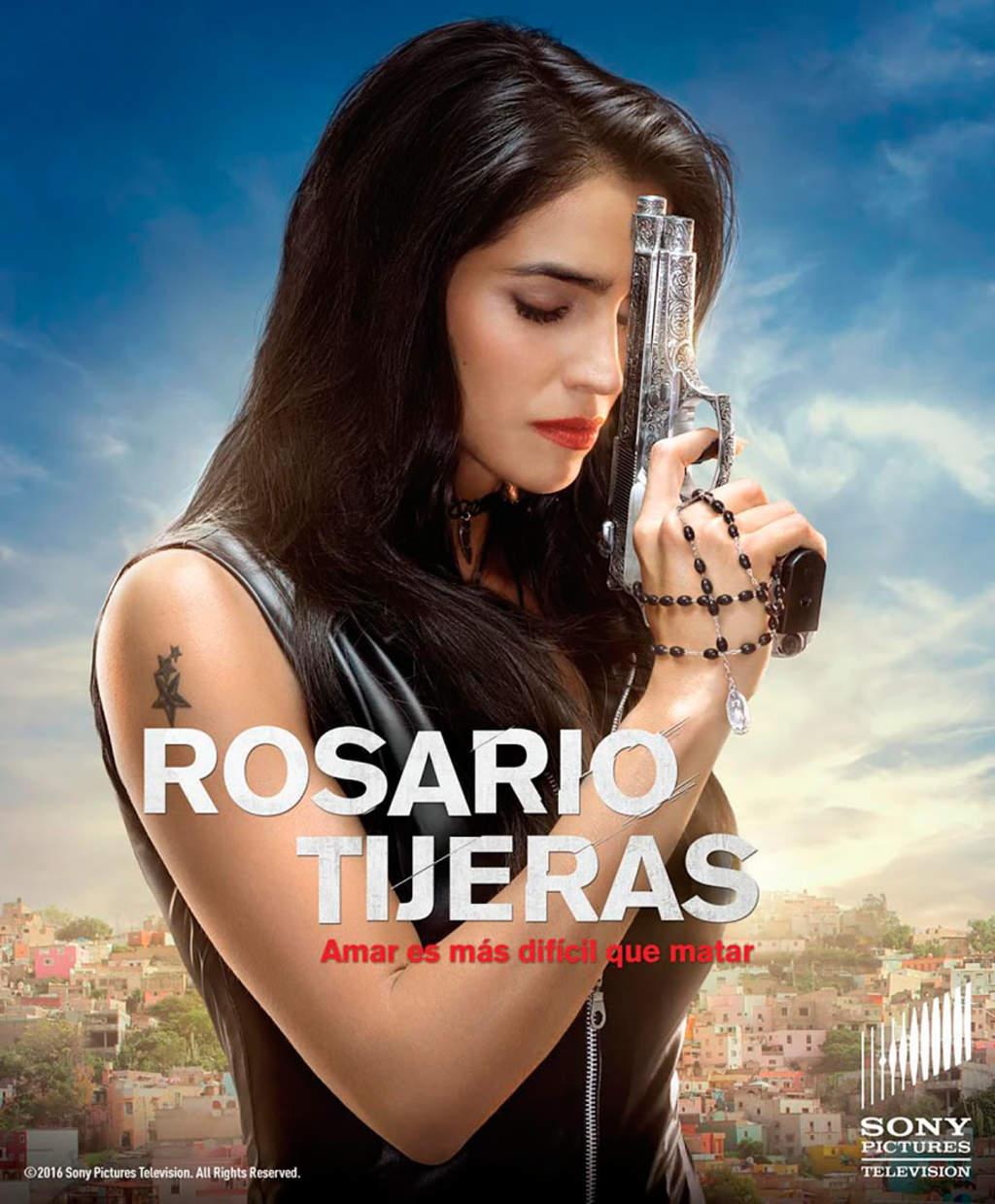 TV Azteca estrena la serie Rosario Tijeras