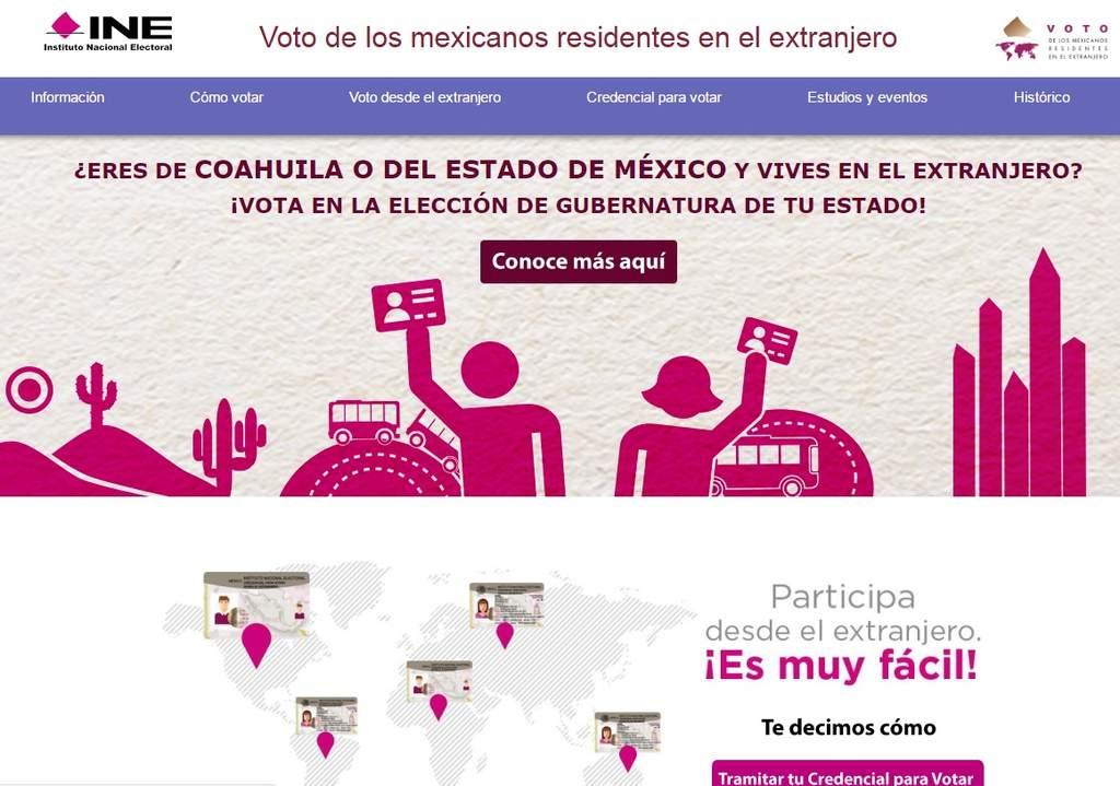 Inicia Proceso De Voto En El Exterior Para Coahuila