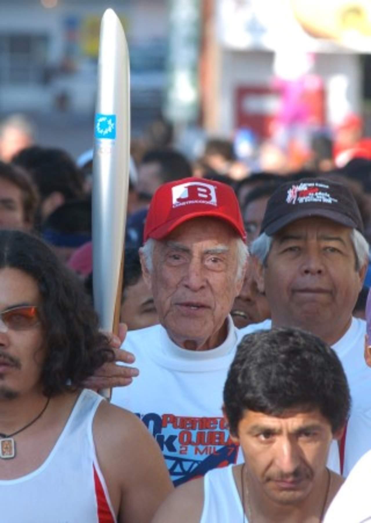De luto el atletismo; fallece don Germán González Navarro