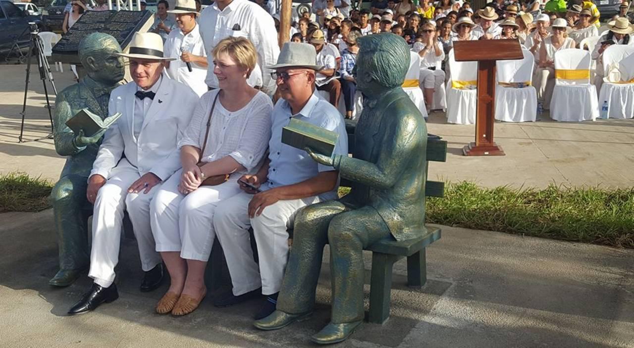Celebra Nicaragua a Rubén Darío y Mark Twain