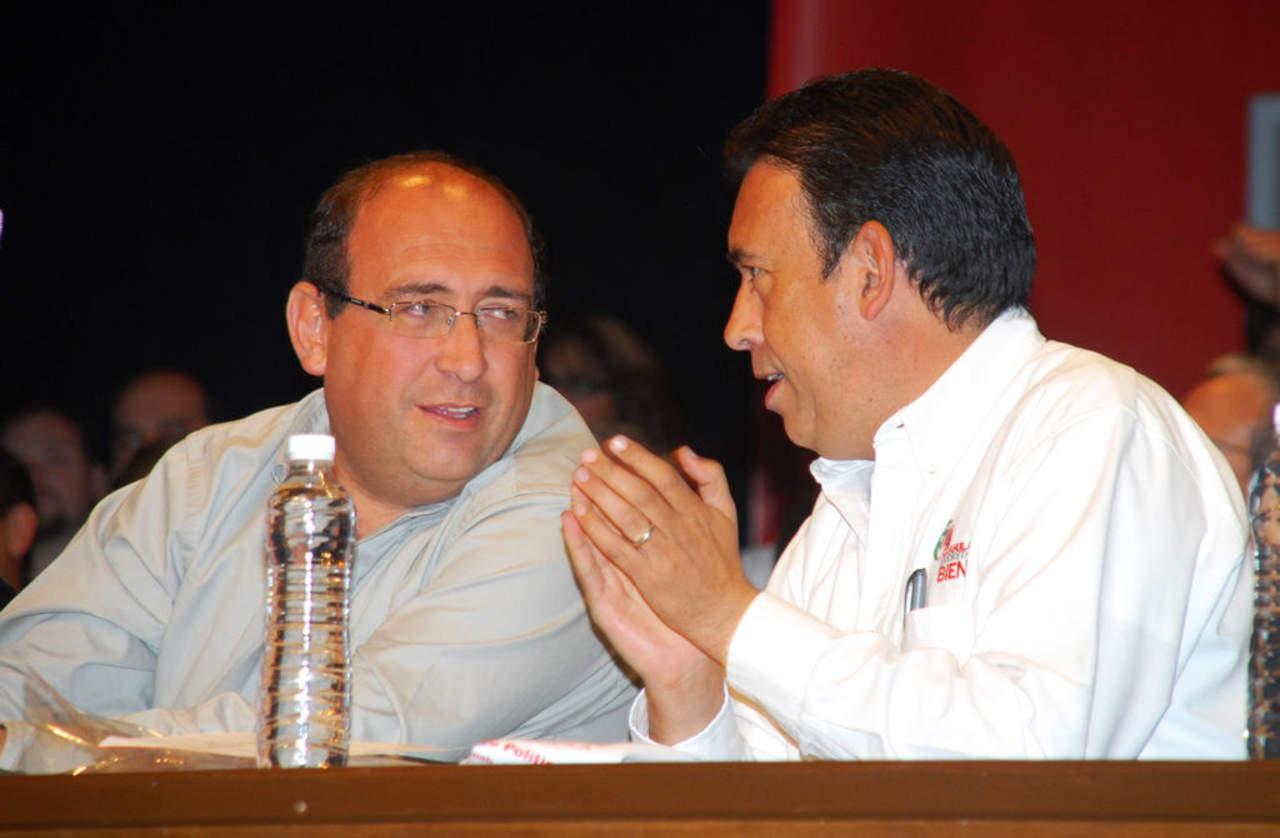 Admite Humberto Moreira que dejó a su hermano como gobernador
