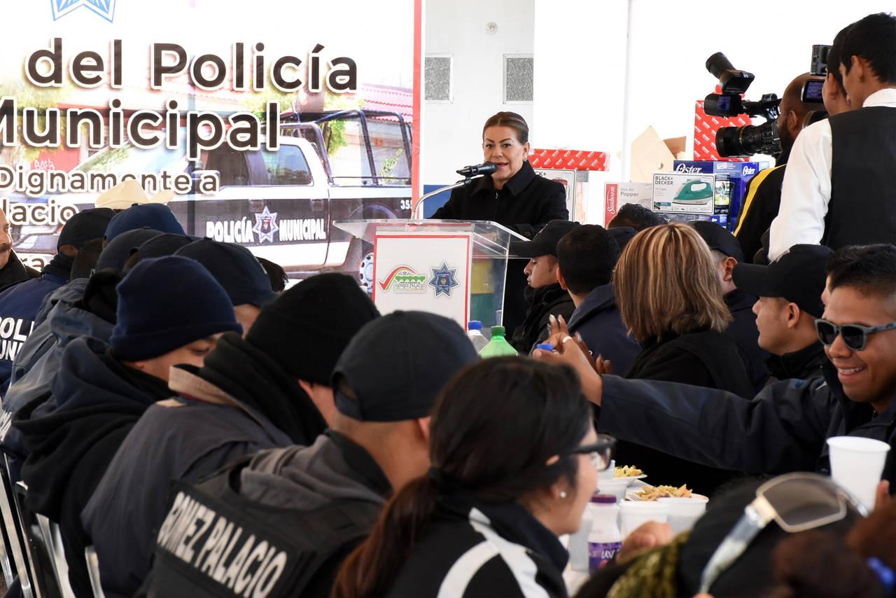Premiarán a policías destacados en Gómez Palacio