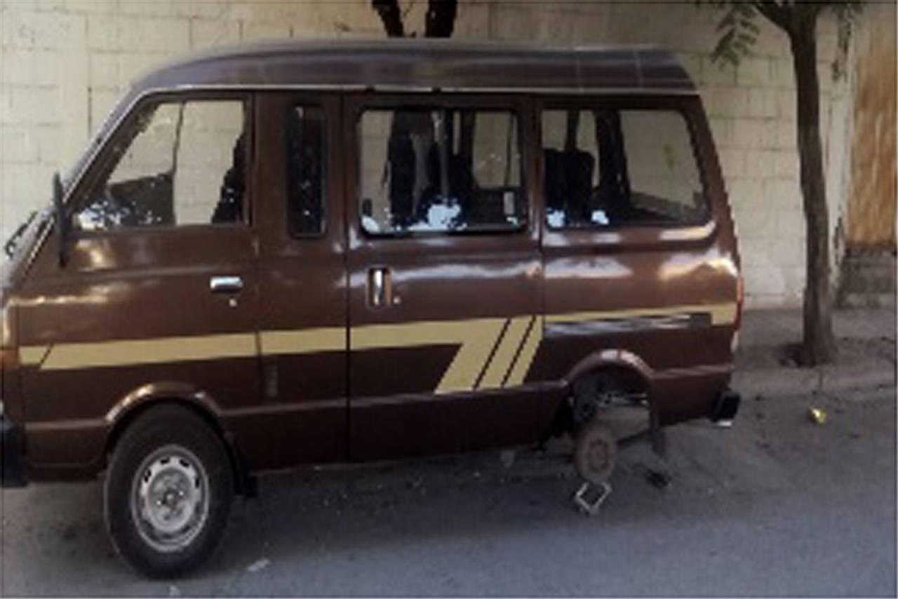 Policía de GP recupera una camioneta robada