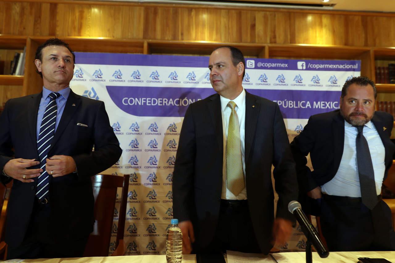 Propone Coparmex pacto alternativo