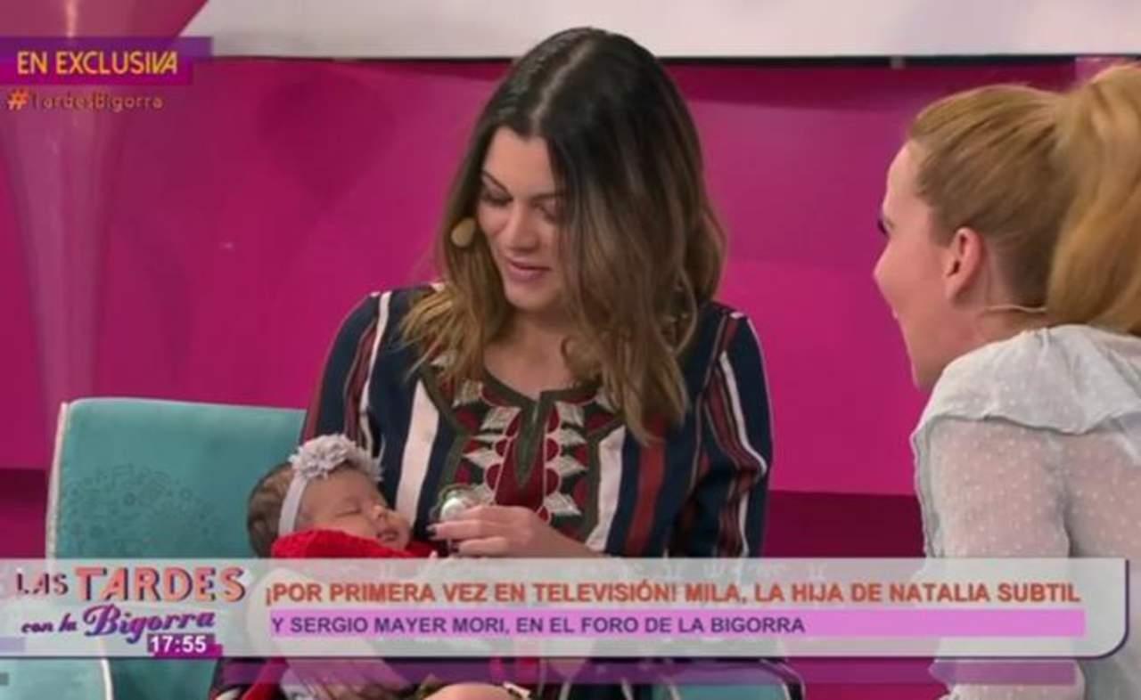 Presentan a nieta de Bárbara Mori en televisión