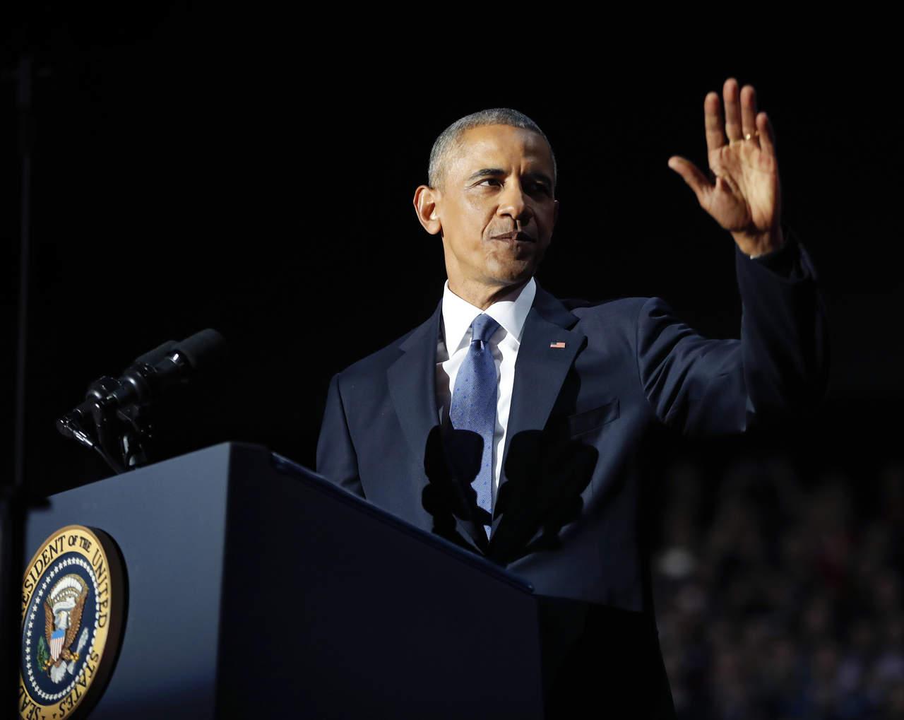 Las frases más destacadas del discurso de despedida de Obama