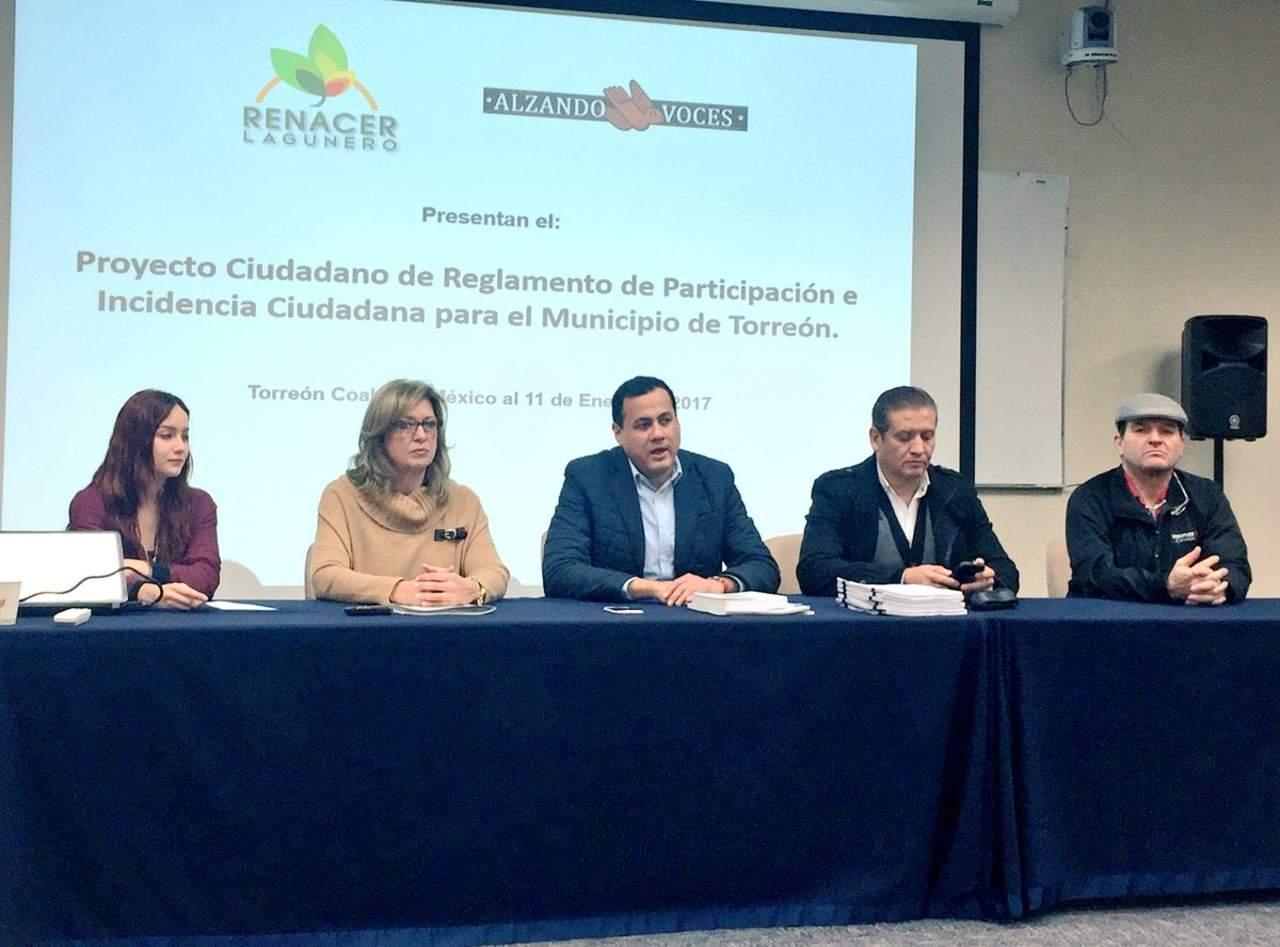 Presentan propuesta de reglamento de Participación Ciudadana