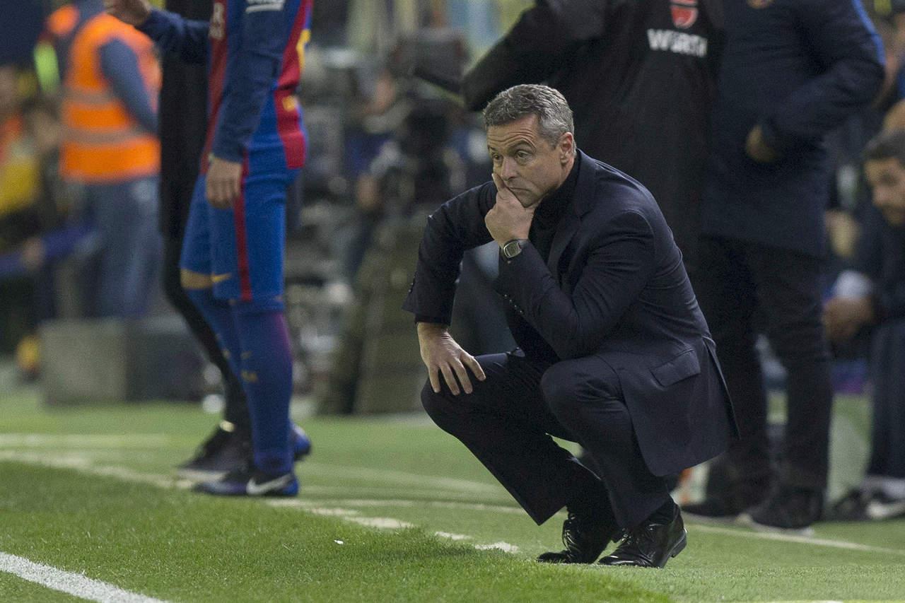 Lamenta técnico de Villarreal eliminación en Copa del Rey