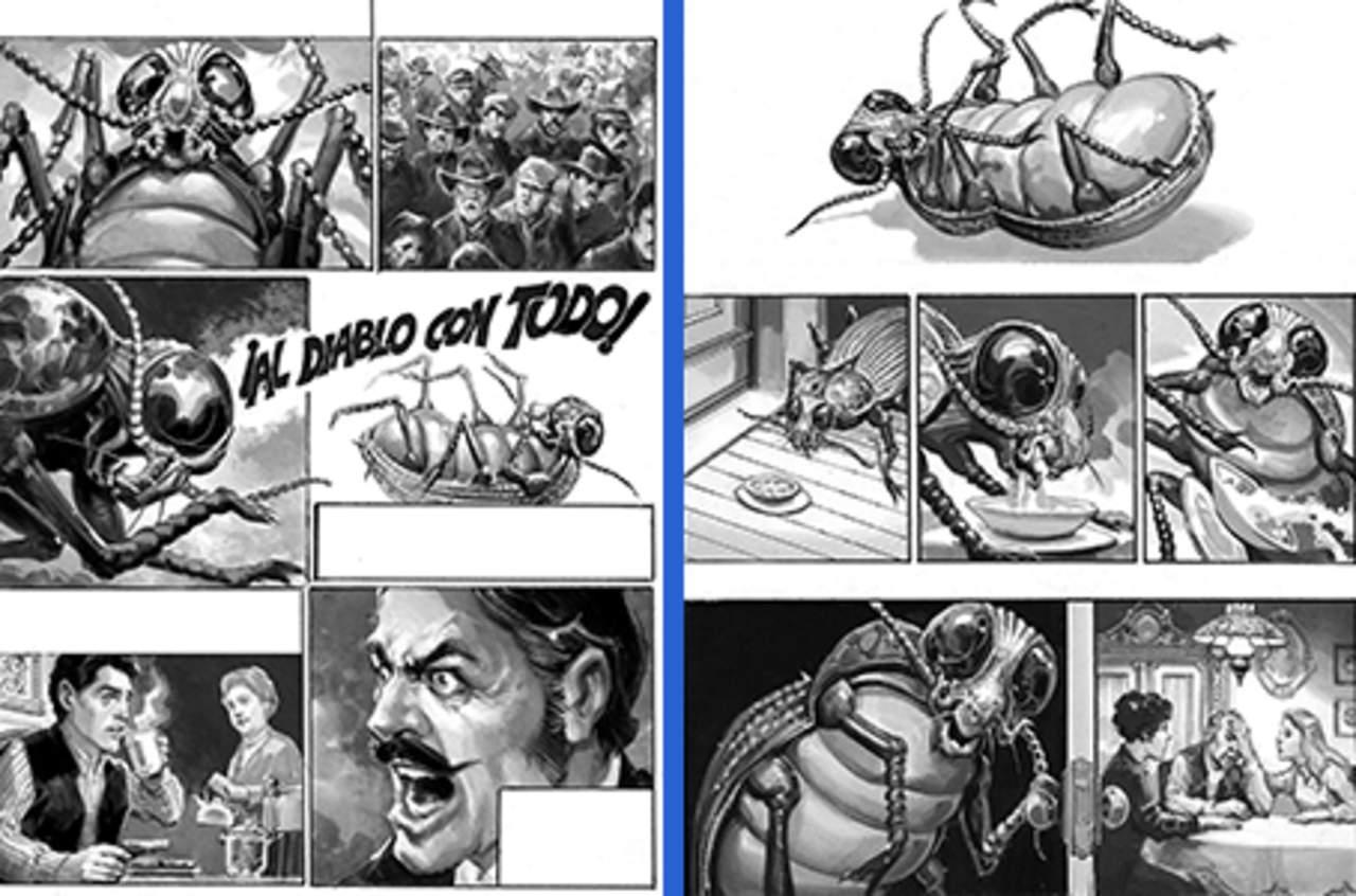 Adaptan al cómic La metamorfosis de Franz Kafka