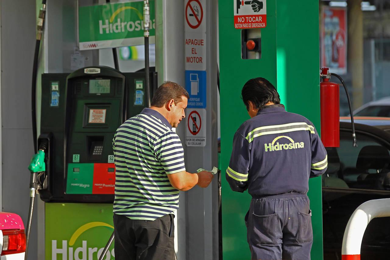 Prevén congelar precio de gasolina