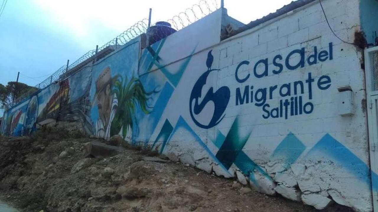 Alistan centro para refugiados en casa del migrante for Mural de la casa del migrante