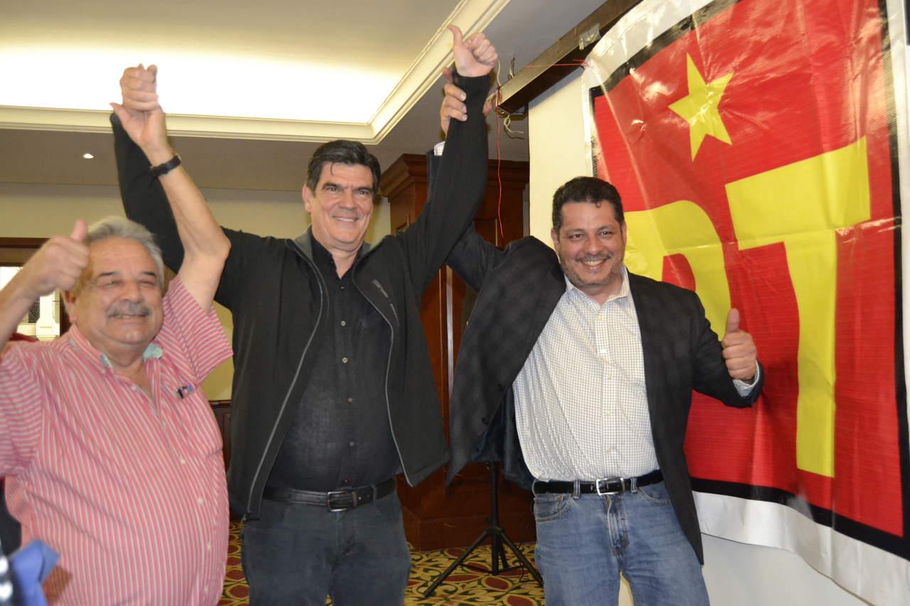 PT designa a José Ángel Pérez como su candidato a la gubernatura
