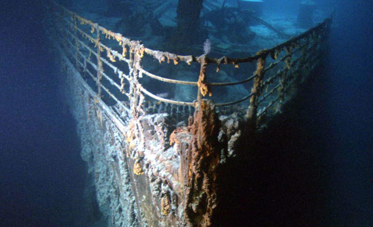 Alistan misión para examinar restos del Titanic