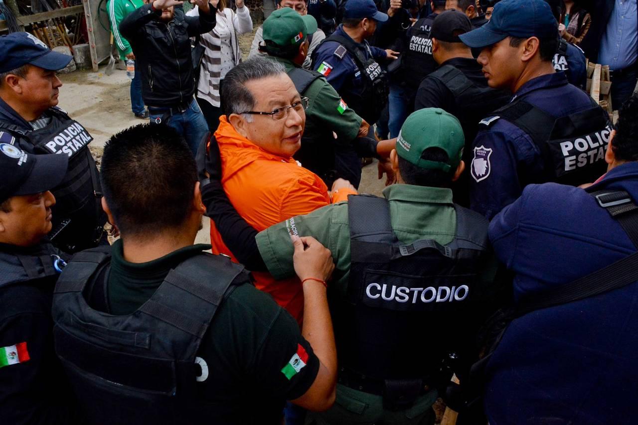 Sacan a Flavino Ríos del penal a hospital