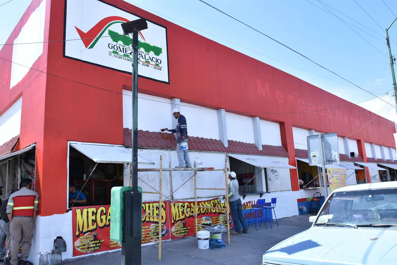 Rehabilitan el mercado Morelos de Gómez Palacio